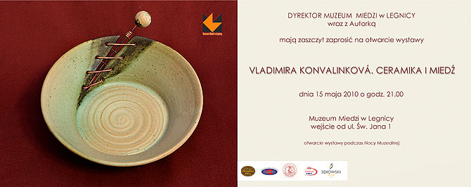 Výstava Polsko - Keramika a měď | Exhibition Poland - Ceramic and Copper